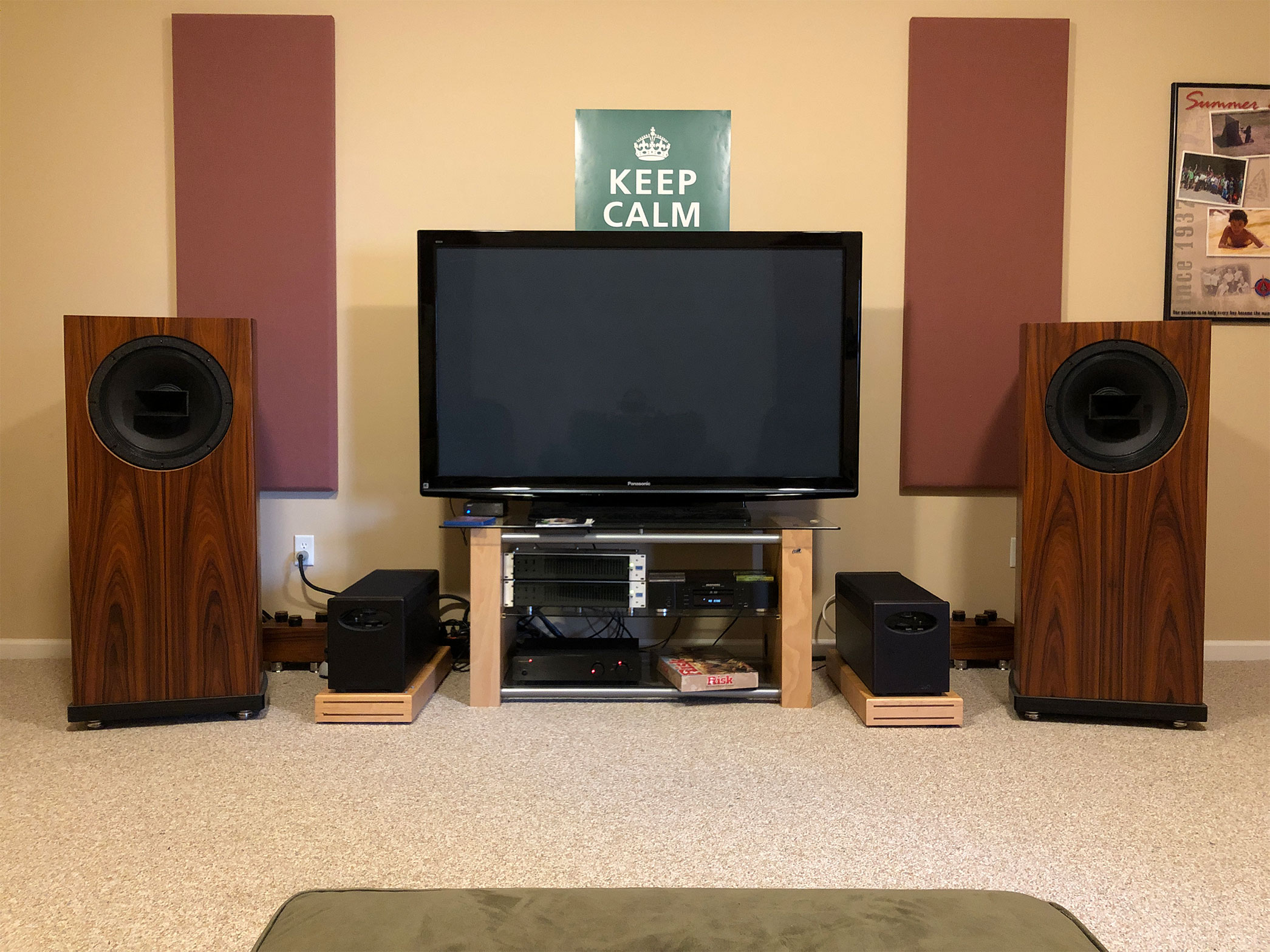 Cane Creek Audio Video son's game room